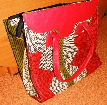 Very nice handbag made by our students