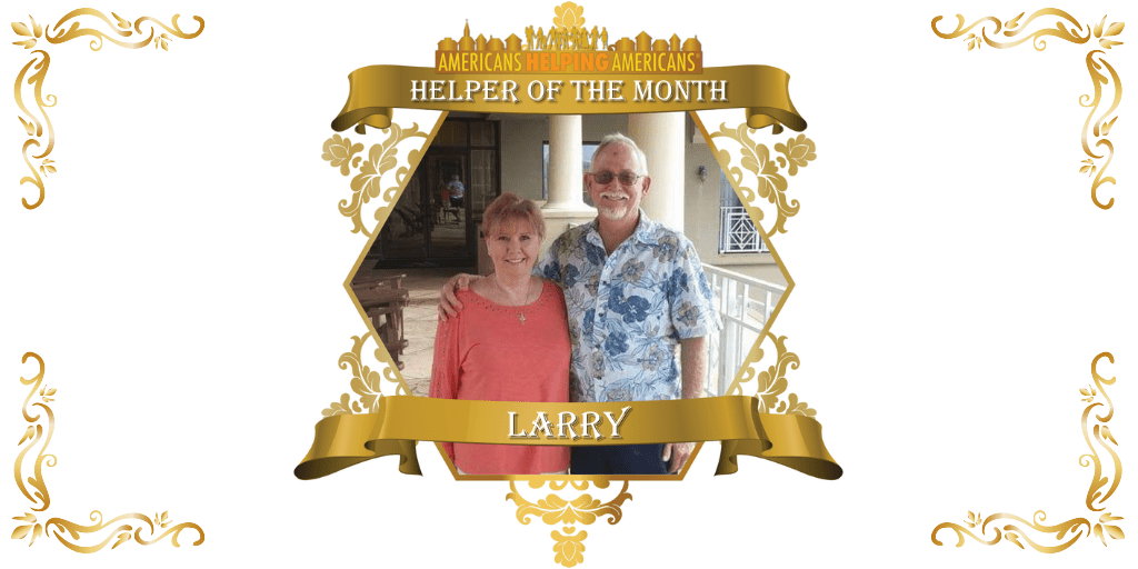 Americans Helping Americans – Helper of the Month Award for November!