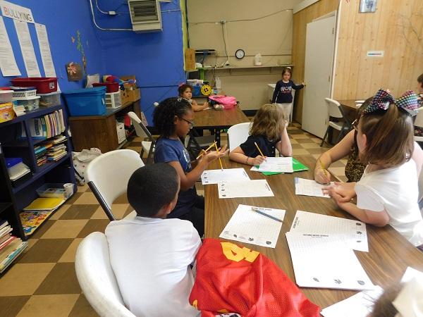 Children in afterschool program in West Virginia