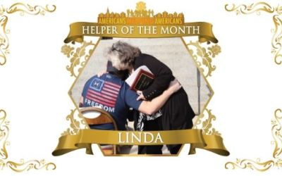 Congratulations to Linda Smith – Helper of the Month for April!