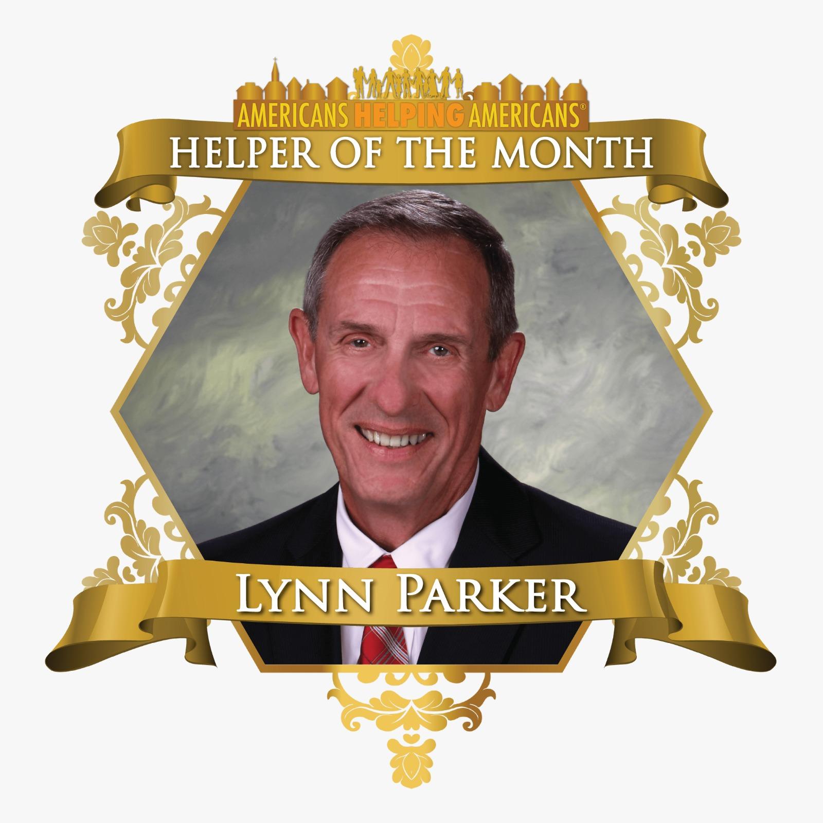 Helper of the Month Lynn Parker