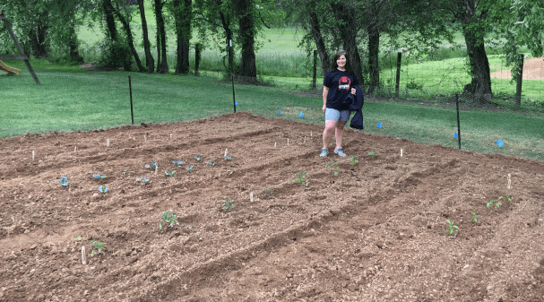 """Our partnership with Sprouting Hope """"brings a bright spot to the lives of nine families in a very dark time"""