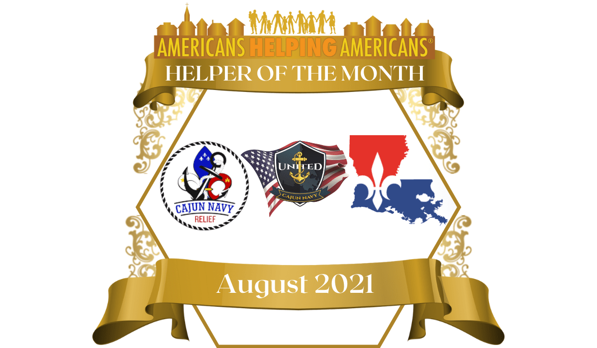 HELPER OF THE MONTH August 2021
