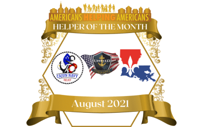 Congratulations to these volunteers working in Louisiana – Our Helpers of the Month for August!