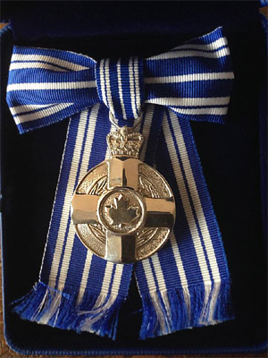 Aristilde's Meritorious Service Medal
