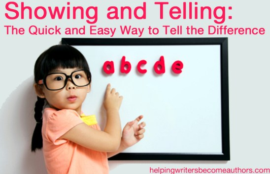 Showing and Telling The Quick and Easy Way to Tell the Difference