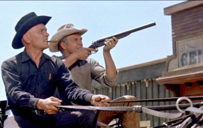 Magnficent Seven Boot Hill Yul Brynner Steve McQueen
