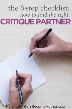 The 6-Step Checklist How to Find the Right Critique Partner