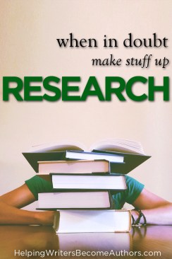 Research: When in Doubt, Make It Up