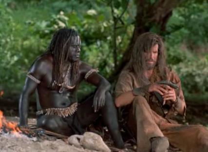 Robinson Crusoe Friday Pierce Brosnan