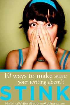 make sure your writing doesn't stink`