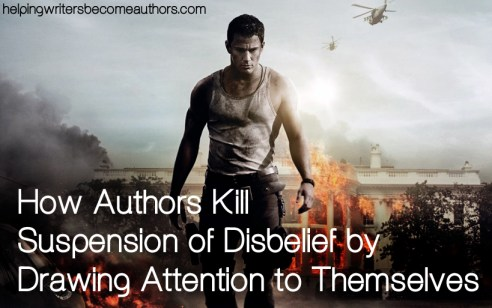 how authors kill suspension of disbelief by drawing attention to themselves