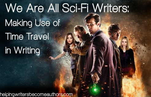 time travel in writing