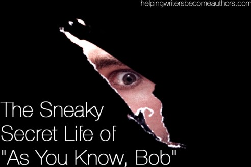 the sneaky secret life of as you know bob
