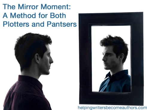 the mirror moment a method for both plotters and pantsers
