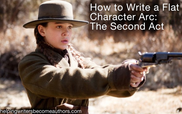 how to write a flat character arc the second act