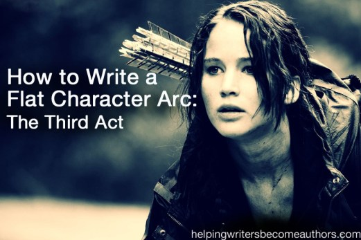 how to write a flat character arc the third act