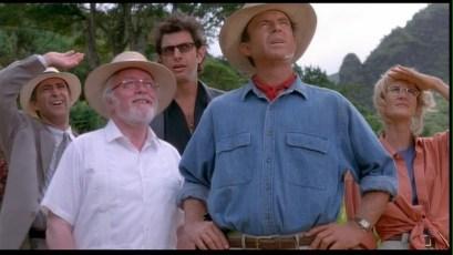 Jurassic Park Dr. Alan Grant Ellie Satler Ian Malcom John Hammond
