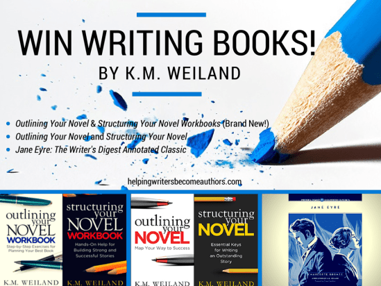 Win Writing Books by K.M. Weiland