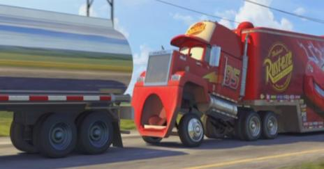 Mack Facing Face Pixar Cars John Ratzenburger