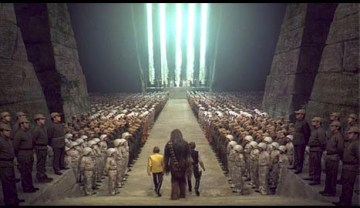 Star Wars New Hope Closing Scene Yavin IV Awards Ceremony