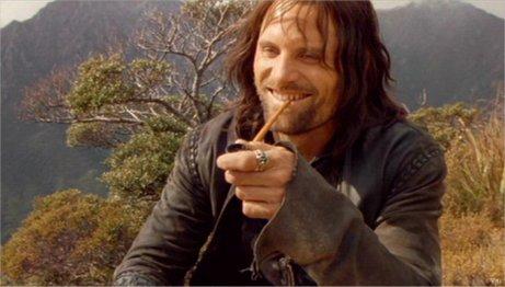Viggo Mortensen Aragorn Pipe