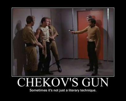 Chekov's Gun Star Trek