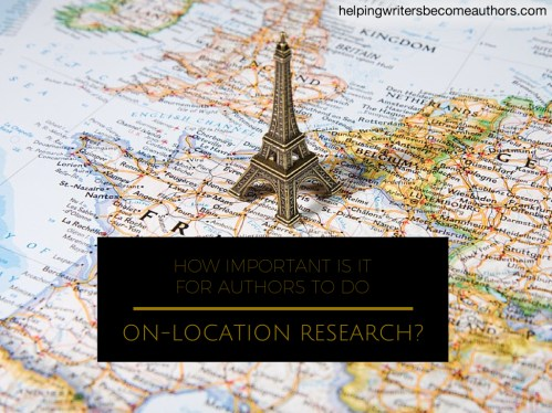 How Important Is It for Authors to Do On-Location Research?