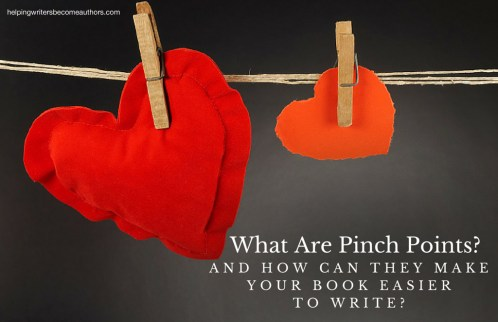 What Are Pinch Points? And How Can They Make Your Book Easier to Write?