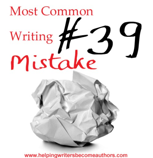 Most Common Writing Mistakes, Pt. 39