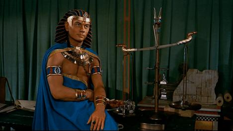 The Ten Commandments Cecil B. Demilla Yul Brynner Ramses