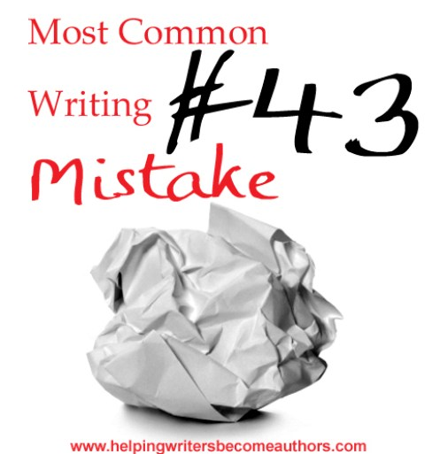 Most Common Writing Mistakes, Pt. 43