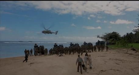 Jurassic Park 3 Navy Marines