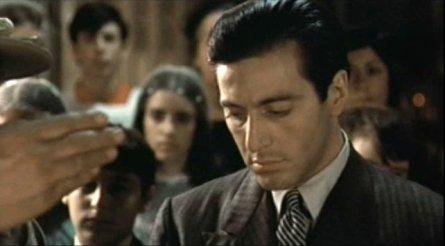 Godfather Al Pacino Christening