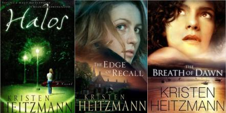 Kristen Heitzmann Halos Edge of Recall Breath of Dawn