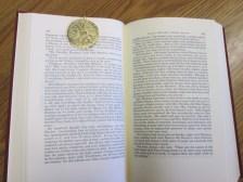 Metal Bronze Bookmark 3