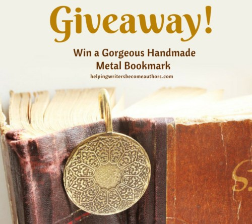 Giveaway! Win a Gorgeous Handmade Metal Bookmark