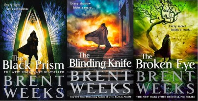 Brent Weeks Lightbringer Black Prism Blinding Knife Broken Eye