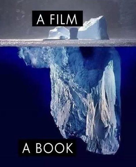 a movie a book