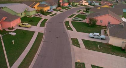 Edward Scissorhands Neighborhood