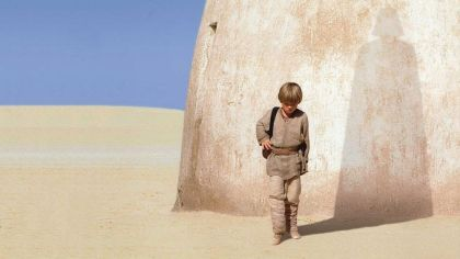 Where did George Lucas go wrong in planning his story?