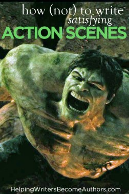 How Not to Write Satisfying Action Scenes