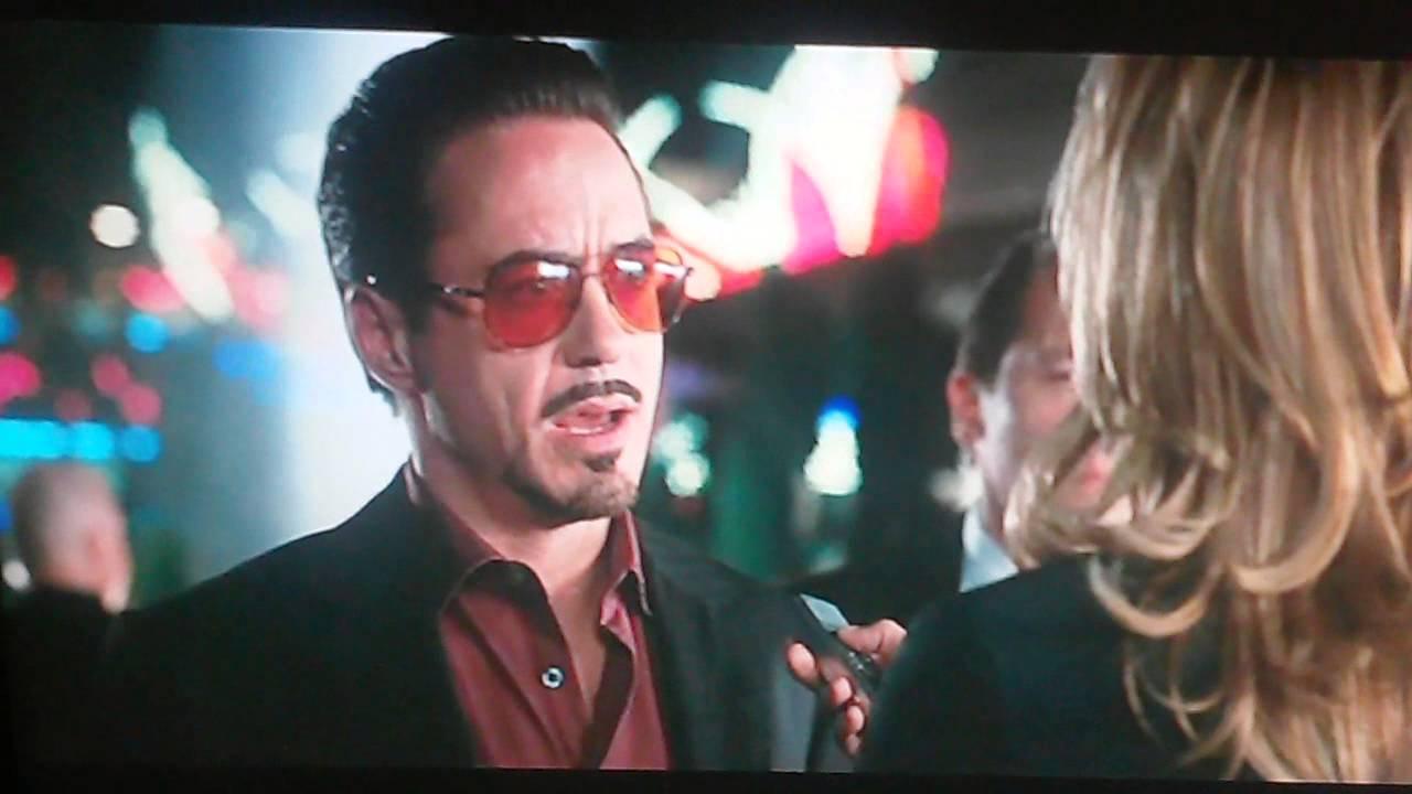 Iron Man Tony Stark CHristine Everdeen
