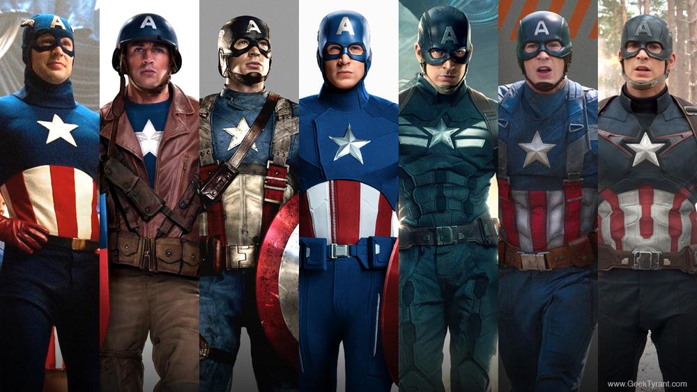 Captain America's Uniforms