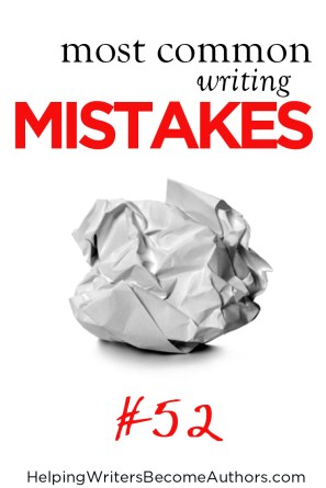 Most Common Writing Mistakes, Pt. 52: Stagnant Story Conflict