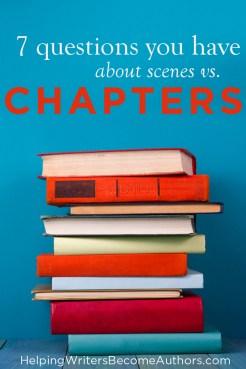 Scenes vs. Chapters