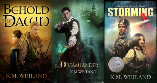 K.M. Weiland Novels Behold the Dawn Dreamlander Behold the Dawn