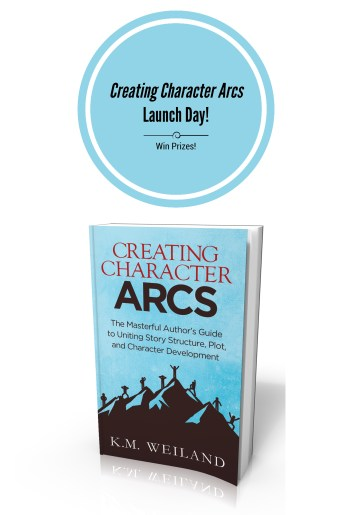 It's Here! My Brand-New Writing Book Creating Character Arcs!