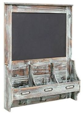 Gift for Writers 17: Chalkboard Mail and Key Organizer