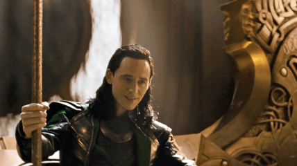 Loki on the Throne Thor Dark World